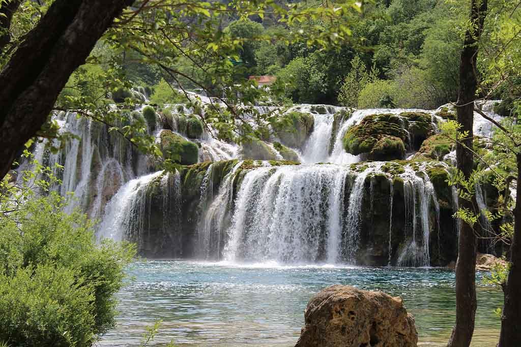 Krka waterfalls adriatic pearl