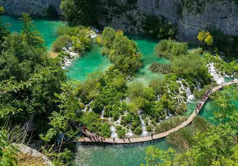 plitvice lakes adriatic pearl